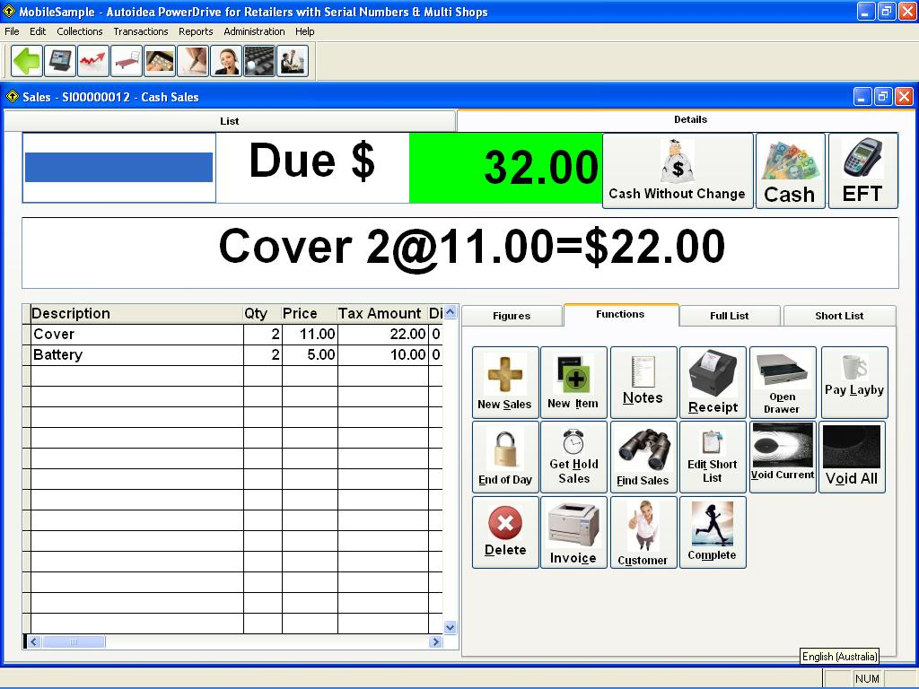 Autoidea PowerDrive for Retailers with Serial Numbers, Multi Shops & CRM 7.0 full